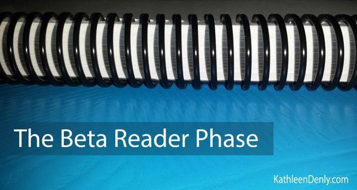 Beta Reader Phase