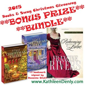 2015 Books & Swag Christmas Giveaway Bonus Bundle