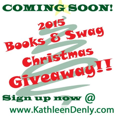 2015 Books & Swag Christmas Giveaway - Coming Soon