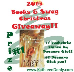 2015 Books & Swag Christmas Giveaway - Prize #1