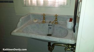 Davis-Horton House Bathroom sink