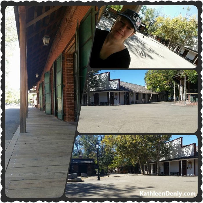 Photo collage of Main Street, Columbia, Ca by Kathleen Denly