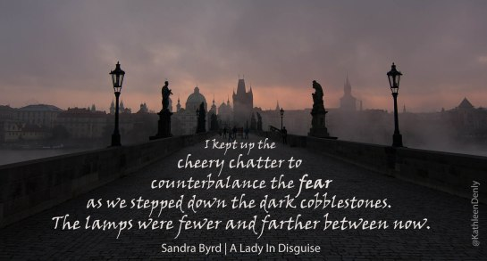 A Lady In Disguise - Quote Photo