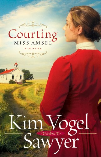 Courting Miss Amsel cover