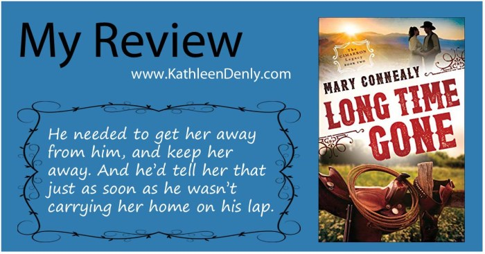 My Review Long Time Gone