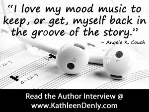 Angela K Couch Author Interview - Music Quote