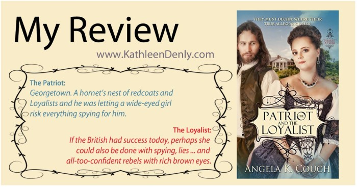 My Review The Patriot & the Loyalist