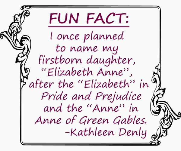 Fun Fact - First born daughter