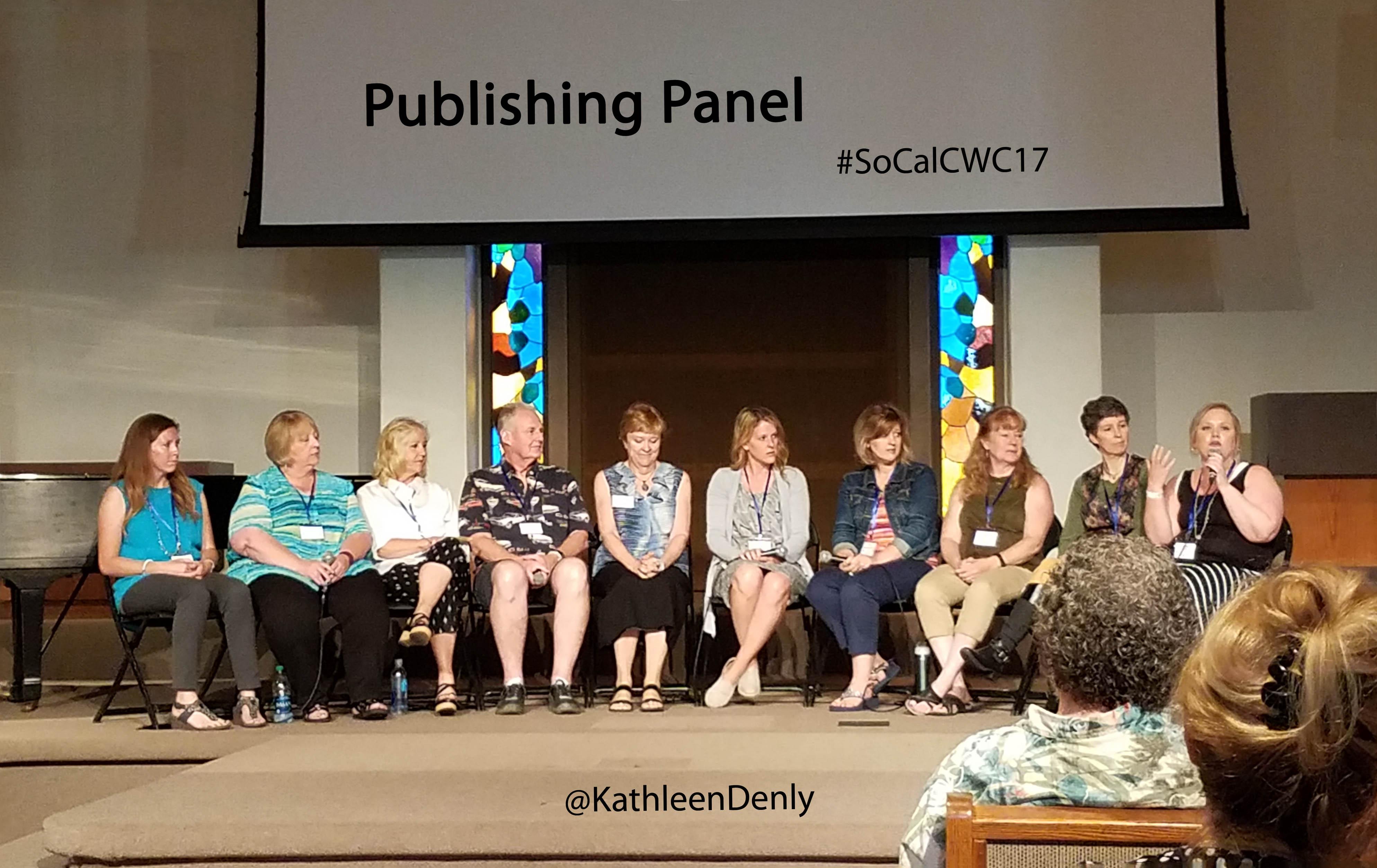 Publishing Panel SoCalCWC17