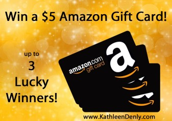 Amazon Gift card up to 3 lucky winners