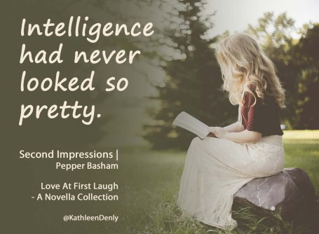 Love At First Laugh - Intelligence Quote Image