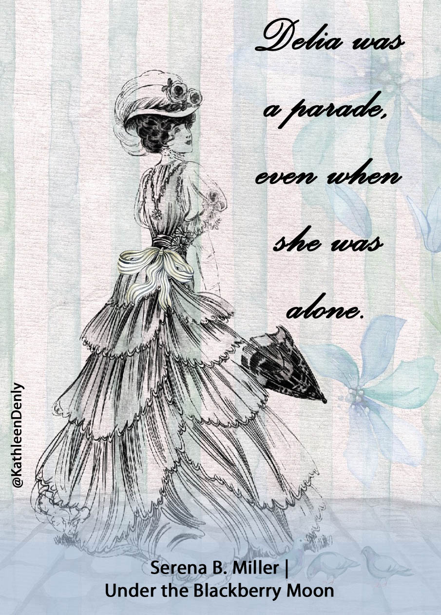 Under the Blackberry Moon Quote Image