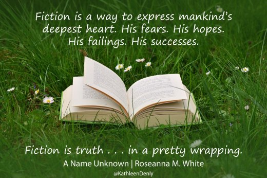 Book Quotes - A Name Unknown - fiction is truth