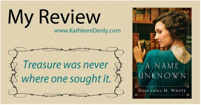 My Review - A Name Unknown