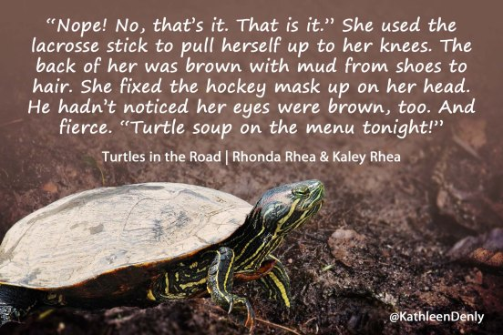 Turtles in the Road Quote Image - Turtle Soup