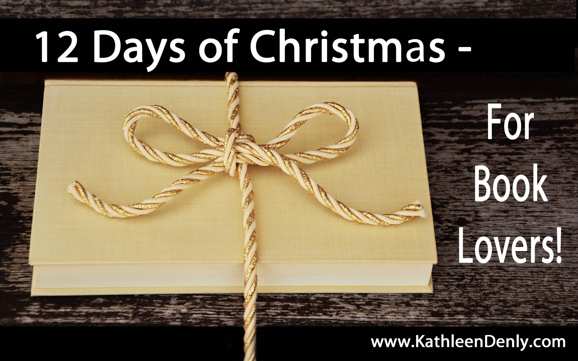 12 Days of Christmas for Book Lovers