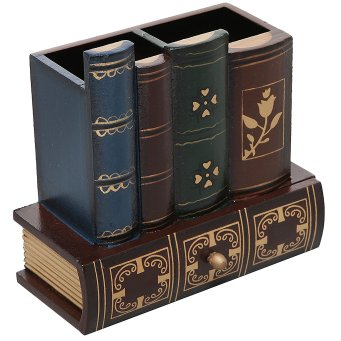 Books Pencil Organizer
