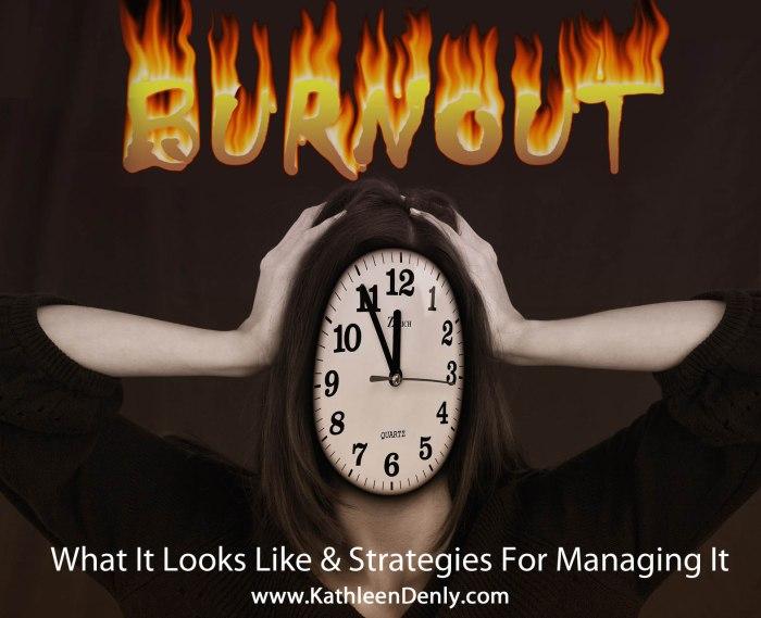 Burnout Blog Title Image