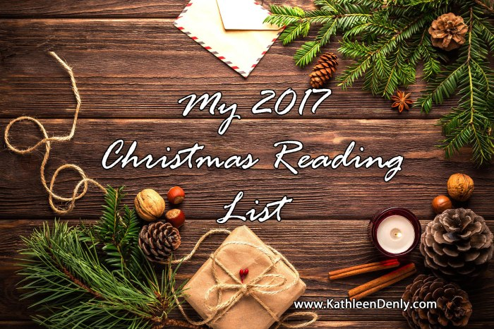 Christmas Reading List 2017 Post Image