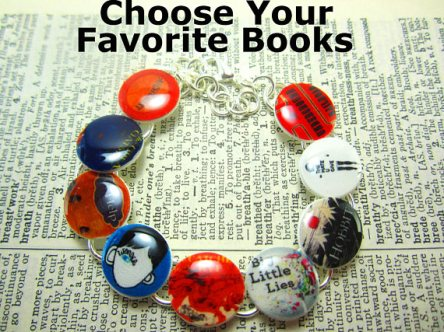 Favorite Books Bracelet