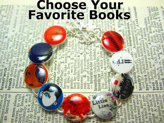 Favorite Books Bracelet