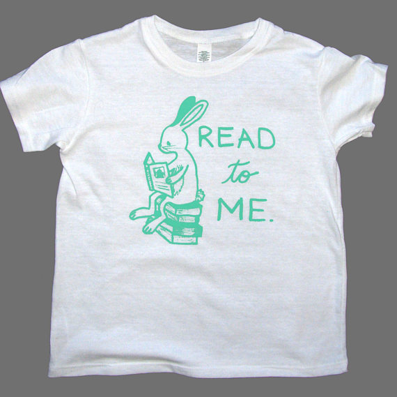 Read to me tshirt