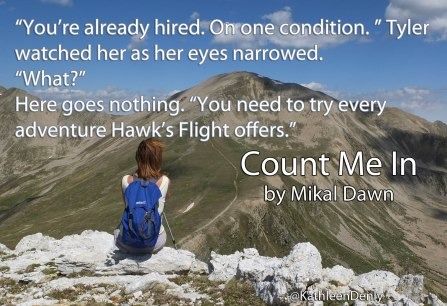 Count Me In - Book Quote - Every Adventure