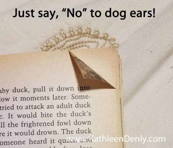 Dog-eared book