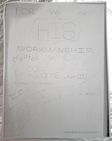 Eph 2_10 Lettering Sketch