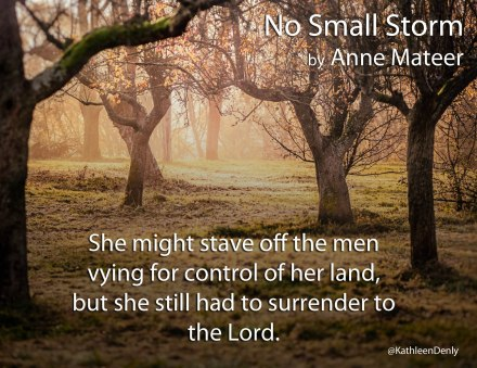 No Small Storm - Book Quote - Stave off Men