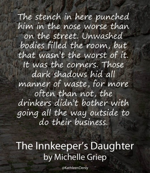 Book Quote Image - The Innkeeper's Daughter - Dirty Corners