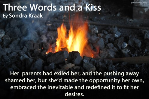 Book Quote Image - Three Words and a Kiss - made it her own