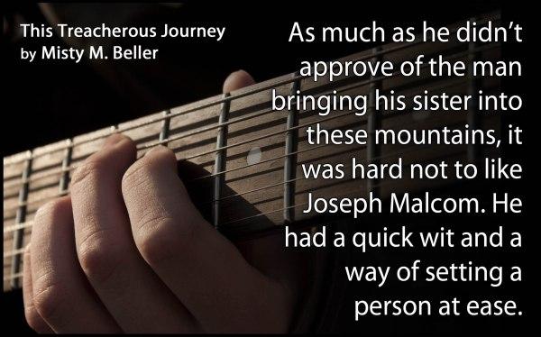 Book Quote - This Treacherous Journey - Joseph