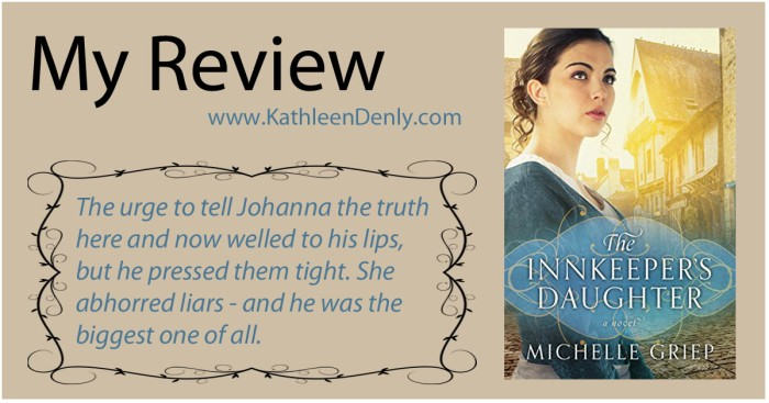 My Review - The Innkeeper's Daughter
