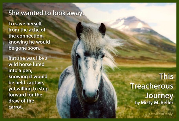 This Treacherous Journey - Book Quote - Horse