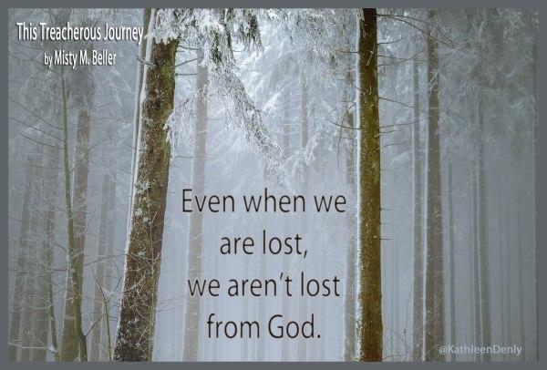 This Treacherous Journey - Book Quote - Lost