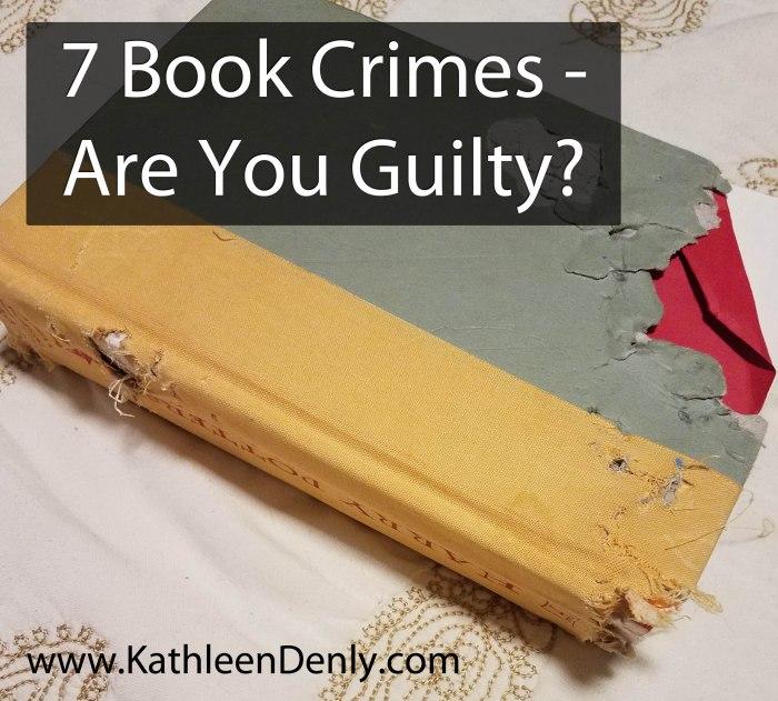 7 Book Crimes