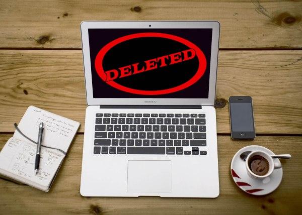 Deleted Laptop Writer Image