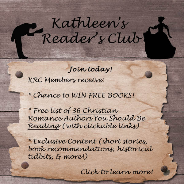 Kathleen's Reader's Club Button Image