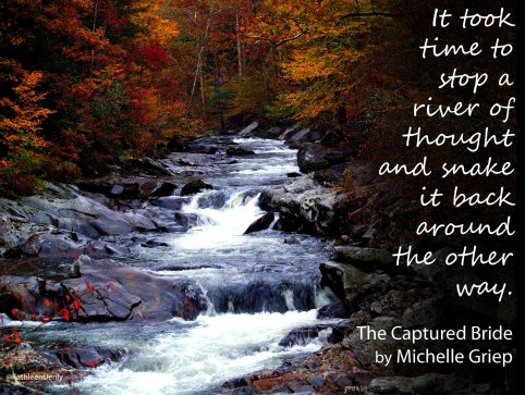 Book Quote - The Captured Bride - River of Thought