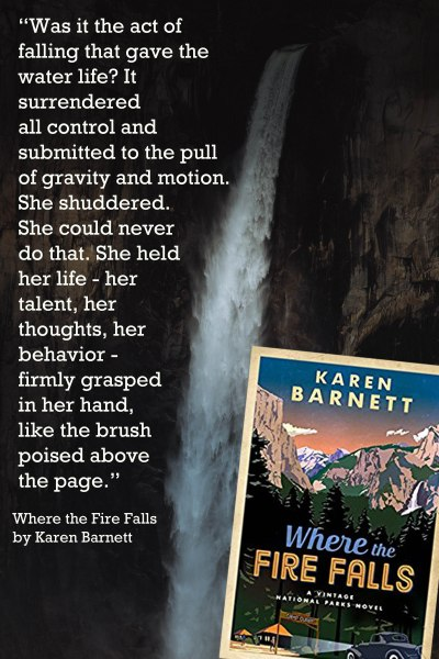 Book Quote - Where the Fire Falls - Waterfall Surrender