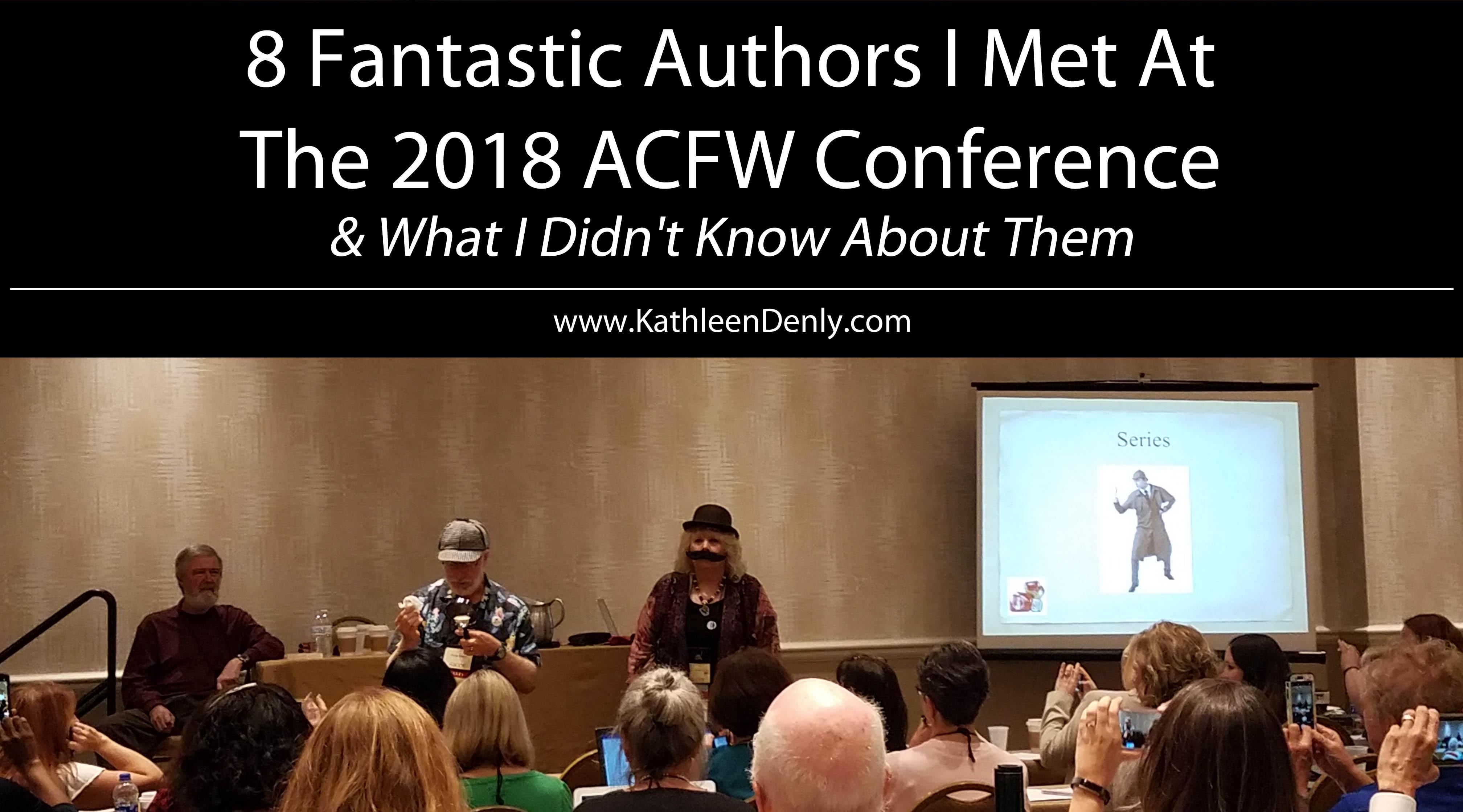 8 Fantastic Authors ACFW 2018