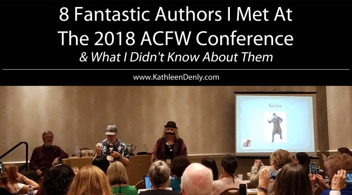 8 Fantastic Authors ACFW 2018