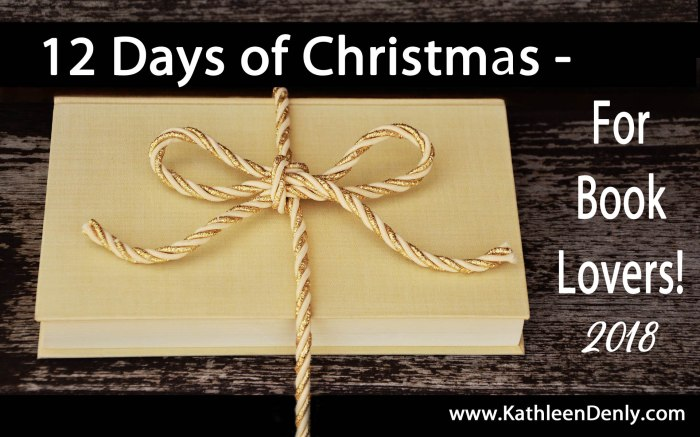 12 Days of Christmas for Book Lovers - 2018