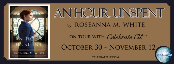 An Hour Unspent Celebrate Lit Tour Banner