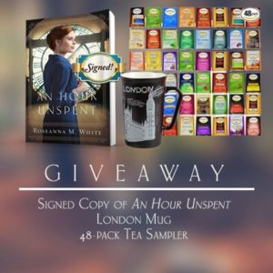 An Hour Unspent Celebrate Lit Tour Giveaway Image