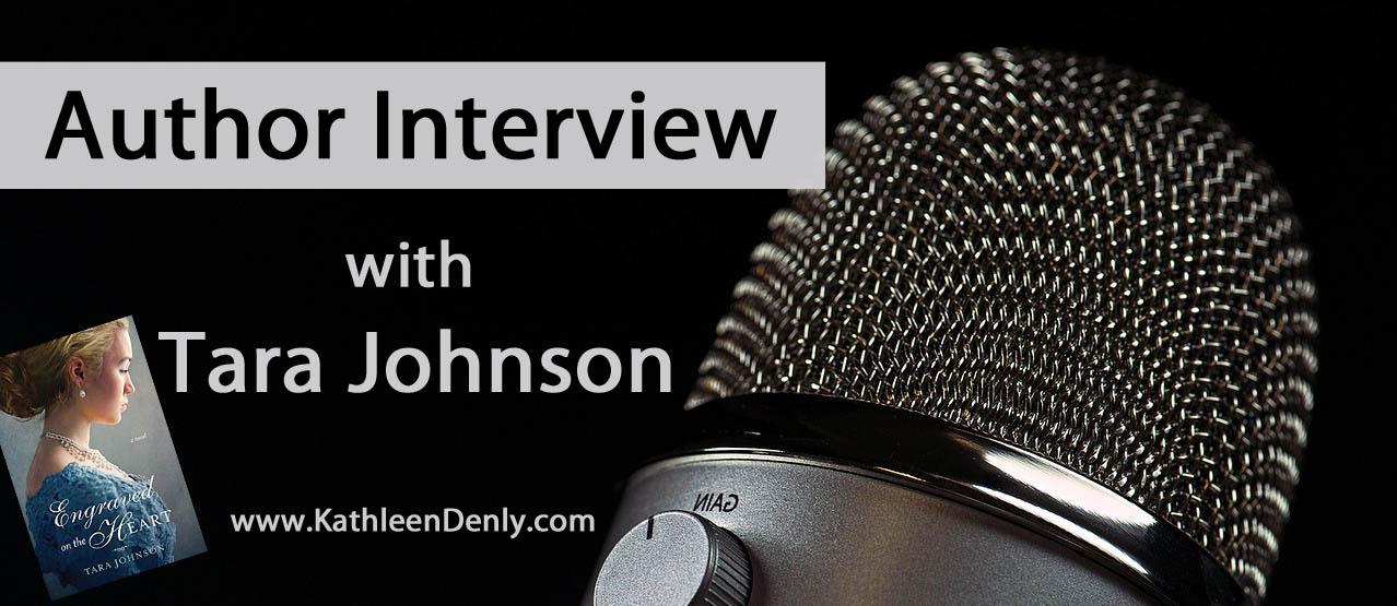 Author Interview Blog Header - Tara Johnson