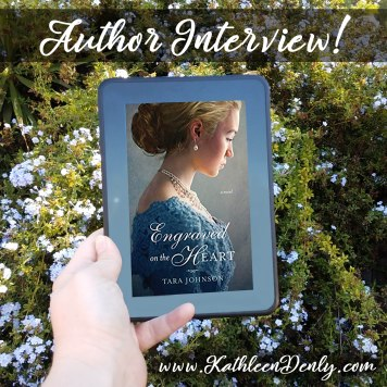 Author Interview - Engraved on the Heart Instagram