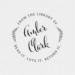 Book Plate Stamp - Read Love Return