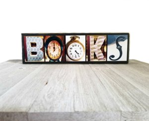 Books Wall Art